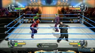 WWE All Stars Grudge Match Mario & Luigi Vs. The Joker