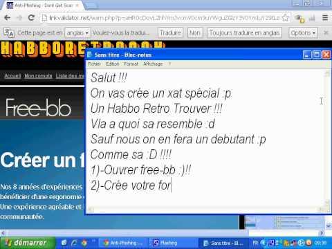 Hình ảnh trong video Comment crée un Habbo Retro Trouver