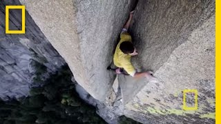 Free Soloing with Alex Honnold: Sheer Rock Climbing without a Rope
