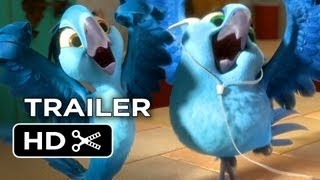Rio 2 Official Trailer #1 (2014) Jamie Foxx Animated