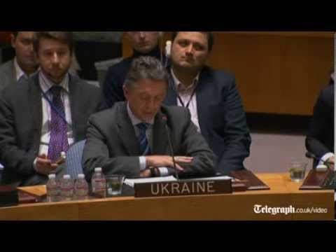 Ukraine appeals to UN to stop Russia