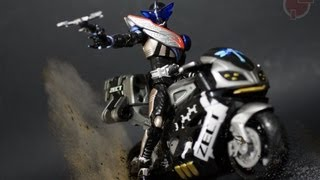Toy Review: S.H. Figuarts Kamen Rider Drake view on youtube.com tube online.