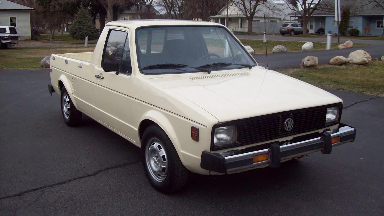 1980 vw rabbit diesel pickup for sale 2 700 youtube. Black Bedroom Furniture Sets. Home Design Ideas