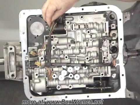 automatic transmission valve body install le shift kit youtube