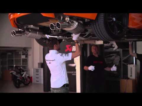 Akrapovic Exhaust BMW M6 (F12, F13) 2017 Evolution Line (Titanium)