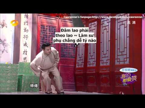 [Vietsub] Nhà Nghiêng 22,5 tập 20 Show Chúng Ta Đều Thích Cười - Phó Tân Bác MissA Phi Khương Triều