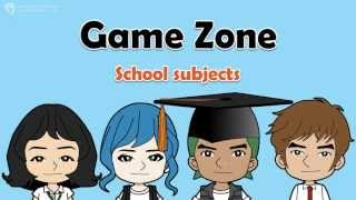 School subjects, English on Tour Unit 8-3, Game Zone