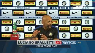 FOLLOW MISTER SPALLETTI'S PRESS CONFERENCE AHEAD OF INTER ATALANTA