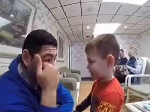 Davin Finds Out He is Going to be a Big Brother