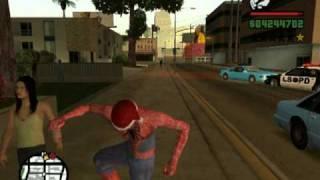 GTA San Andreas Em O Natal Do Homem Aranha