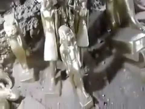 كنوز الفراعنة | شاهد اكتشاف اكبر مقبرة ذهب اثرية من الداخل في مصر