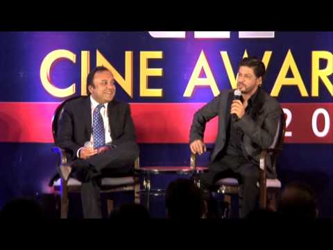 1st announcement pc of zee cine awards 2014 with king khan