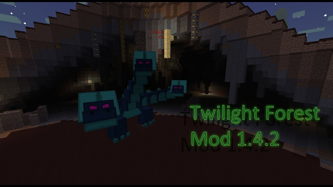 how to get to the twilight forest minecraft