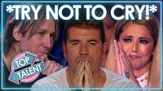 *TRY NOT TO CRY CHALLENGE* | Most Emotional Auditions | X Factor, Got Talent & Idols | Top Talent