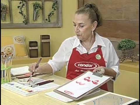 ARTE BRASIL -- ANA MARIA GUIMARÃES -- MARATONA DE PINCELADAS (28/09/2010 - Parte 1 de 2)