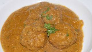 Kofta Curry Lamb ..