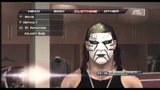How To Create Jeff Hardy (Face Paint [Summerslam 2009]) On
