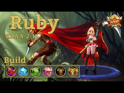 Mobile Legends: Ruby MVP, Top Build for a Top CC Fighter!