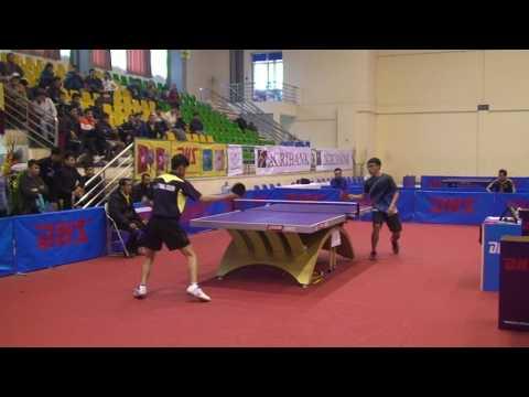 Khoa Đen TPHCM vs Nam Bo Quân Đội - Giải Bóng Bàn Việt Nam Open 2014