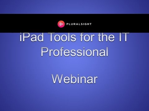 iPad Tools for the IT Professional