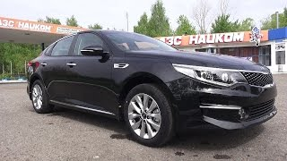 2017 Kia Optima 2.0 AT Luxe. Start Up, Engine, and In Depth Tour.. MegaRetr
