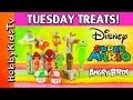 Tuesday Treats Episode 1 Mario, Angry Birds, Micky Mouse, HobbyKidsTV