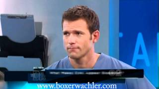 Dr. Brian Boxer Wachler Appears On The Doctors To Cure Red