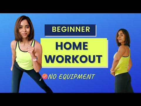10 Min HIIT Workout (Beginner) | Home Workout | Fat Burning Exercises at Home par VegFit.
