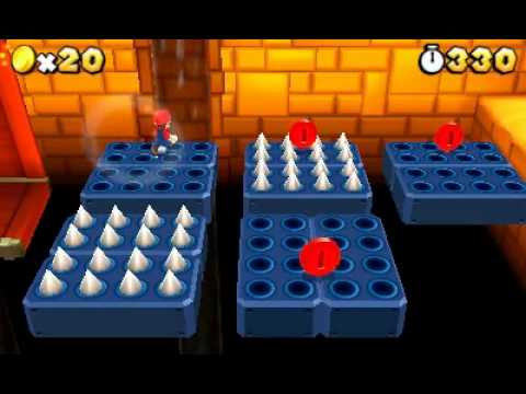 Super Mario 3D Land - more gameplay