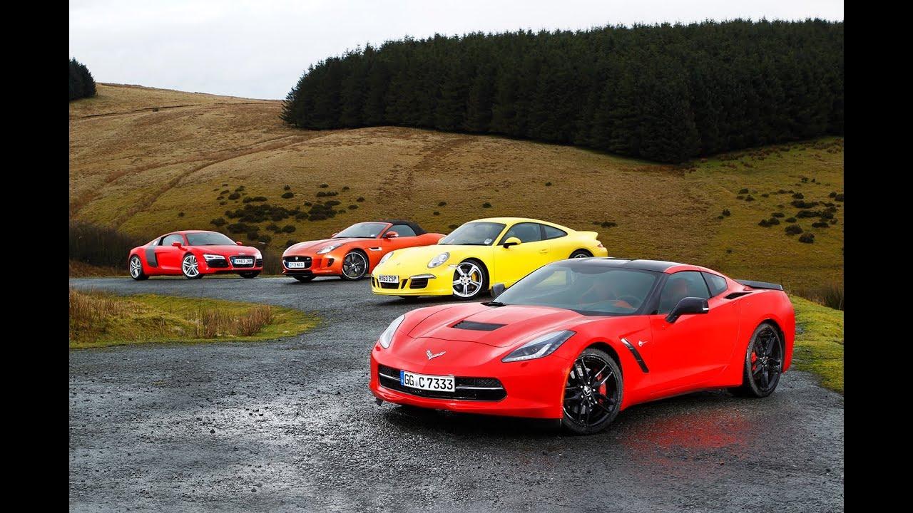 Popular USA 1 Europe 0 Chevrolet Corvette C7 Stingray Vs Porsche