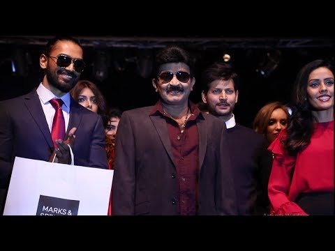 Hero Rajasekhar Walk On Ramp at Marks & Spencers Fashion Show
