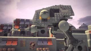 Lego Star Wars Ezra vs Pilot ATDP