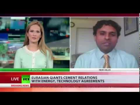 Dr. Sreeram Chaulia on Russia-China gas deal