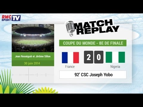 France - Nigeria : Le Match Replay avec le son RMC Sport !