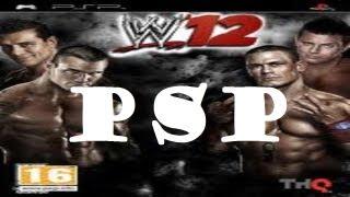 PSP Como Descargar WWE 12 MEGA CSO 2013