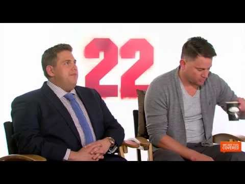 22 Jump Street Interview With Channing Tatum, Jonah Hill, Phil Lord and Chris Miller [HD]