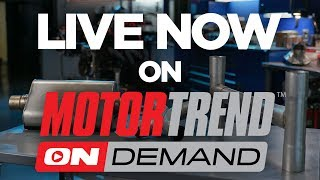 TEASER! Straight Exhaust vs. H-Pipe vs. X-Pipe! - Engine Masters Ep. 22. MotorTrend.