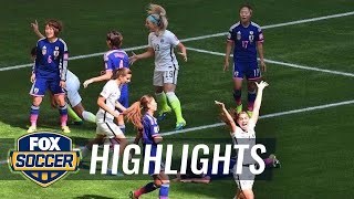 USA vs Japan First Half Highlights - FIFA Women's World Cup 2015 Highlights - Duration: 0:56.