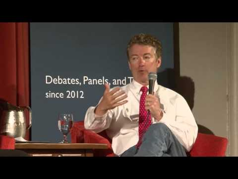 Senator Rand Paul Speaks at Berkeley Forum- March 19, 2014