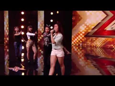 Bang Bang - 4 cô gái Việt với bài hát Bang Bang đã gây náo loạn cả trường quay X Factor America