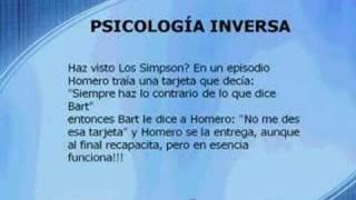 Psicología inversa ¿Que es?