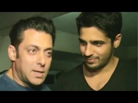 Why was Salman Khan at the 'Ek Villain' bash?