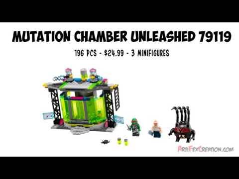 MUTATION CHAMBER Unleashed 79119 Lego Teenage Mutant Ninja Turtles Animated Building Review