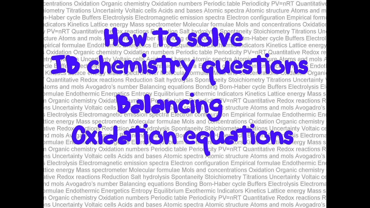 chemistry redox reactions explained essay The redox reaction is an important type of what reaction has saved more lives in the history of chemistry explain it redox reactions and metabolism.