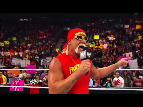 Wwe Hulk Hogan Return 2014 VF