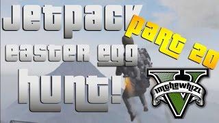 GTA 5: Jetpack Next Gen Easter Egg Hunt Part 20! Exploring