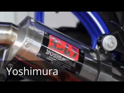 Tổng hợp pô độ trên Yamaha Exciter 135