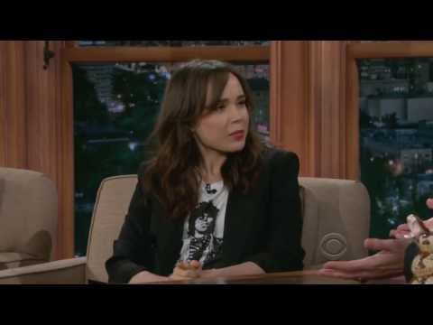 Ellen Page on Craig Ferguson 05/28/2013 HQ