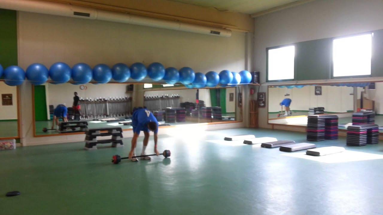 Pliometrie exercice de détente verticale - YouTube