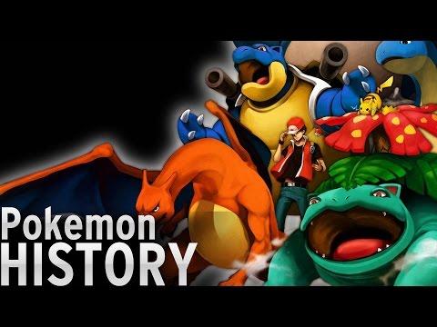 History of - Pokémon (1996-2016)